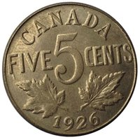 Wholesale Canada points copy coins copper silver plated Art collection gifts Retro coins