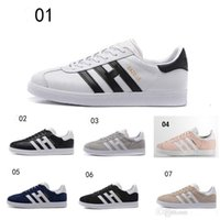 Wholesale 2017 newest superstar gazelle super color fashion style sport shoes Men s Running Sneakers cream black white
