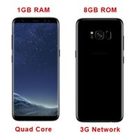 Goofón s8 borde 1 GB Ram 8 GB Rom Quad Core s8 Mtk6582 Red 3G Metal Frame S8 teléfono inteligente vs S7 Edge i7 plus