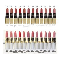 beautiful english names - 2017 NEW Brand Riah Carey matte lipstick color Collection English Name Beautiful with Gold box Silver box DHL