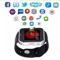 Nouveau GW05 Smart Watch Bluetooth 4.0 IPS Full Ronde Smartwatch Pour Apple Samsung Gear S2 IOS téléphones Android pk k88h gt08 dz09 u8