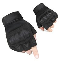 Wholesale New Men s Outdoor Half Finger Cycling Motorcycle Hunting Gloves