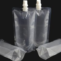 Eco-Friendly bag cost - Transparent Suction Bag Blank Suction Bag Drink Oil Packaged Food Nozzle Bag Pressure Easy Save Cost Saving dm