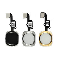 Wholesale For iphone plus Home Button flex Touch ID Sensor Home Button Key Flex Cable Replacement For iPhone iphone Plus