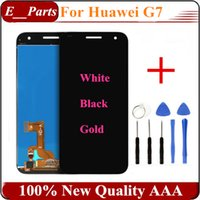 For Huawei best bar tools - 1Pcs Best Quality AAA For Huawei G7 LCD Display Touch Screen Digitizer Assembly Replacement For Huawei Ascend G7 Phone with Open Tools