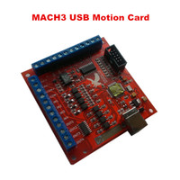 Wholesale Hot sell CNC router part KHz mach3 usb Axis Stepper motor controller card USB CNC motion Controller card