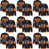 bernie parent - Men Philadelphia Flyers Stadium Series Sean Couturier Michael Raffl Bill Barber Dave Schultz Bernie Parent Jersey stitched