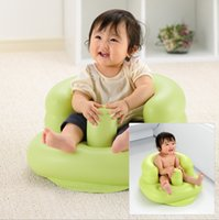 Wholesale Portable Baby Inflatable Sofa School Chair Bathing Dining Chair Multifunctional Children s Dining Chair Round Thickening Widening Inflat
