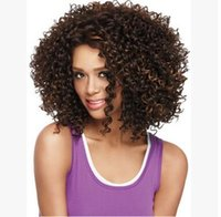 Wholesale HOT Europe and the United States The Short Curly wigs Ladies fashion foreign trade hot style African head Rose net The wig caps