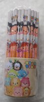 Wholesale 72 School Supplies cartoon Stitchy lovely little horse poni Wooden pencils