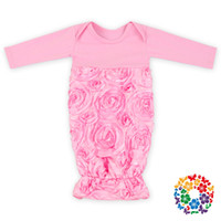 Wholesale Baby Sleeping Bag Kids Tail Rose Flower Sleeping Baby Air Conditioner Anti Kick Clothing p l
