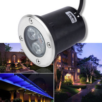 Wholesale W LED Waterproof Outdoor In Ground Garden Path Flood Landscape Light DC V Worldwide store
