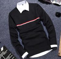 achat en gros de pull noël pas cher-Vente en gros YP1026M hiver automne 2017 chaude vendant à la mode causale nice polo chaud Noël sweater hommes
