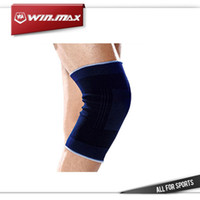 Wholesale Winmax Professional Knee Support Strap Brace Pad protector sport kneepad kneecap Badminton Basketball Running bull breathable knee support