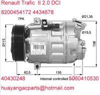 Wholesale auto Air Conditioning compressor Zexel DCS17 fitRenault Trafic II Vivaro DCI Nissan Qashcai i DA0A