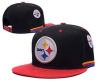 Wholesale Football Pittsburgh Snapbacks hats Steelers Caps Sports Team Hats Draft Highly Snapback Sporting Hats Cotton men women Cap