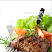 Wholesale Digital BBQ Thermometer Cooking Food Probe Food Thermometer Meat Thermometer Kitchen Instant Digital Temperature Read Food Probe