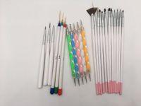 Wholesale Fashion Christmas Gift Painting Nail Brush Acrylic Design Painting Nail Liner Brushes Art And Dotting Nail Pen Tools Set