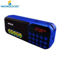 Wholesale Mini Portable Radio Digital LCD Display FM Stereo Audio Speaker MP3 Music Radio Player For TF Card