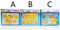 Wholesale Poke cartoon jigsaw puzzle children baby early childhood educational toys style plane puzzles