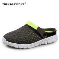 Zapatillas de deporte respirables unisex de la playa del verano del mens del deslizador de la venta al por mayor-2016 de la nueva venta al por mayor.