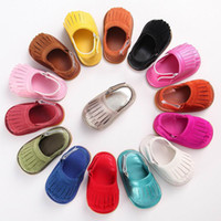 Girl babies first shoes - Baby First Walkers Rubber Soft Sole Baby Girl Tassels Sandals Shoes C176