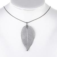 Cheap Pendant Necklaces leaf necklace Best Mexican Women's necklace
