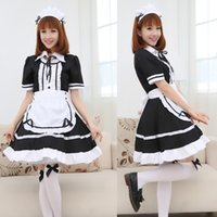 Wholesale Maid fitted Cosplay costume cartoon female manslaughter restaurant performance uniforms pink maid maid servant cos