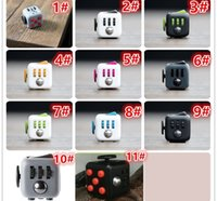 Wholesale 11 color choose free New fashion Fidget cube the world s first American original decompression anxiety Toys