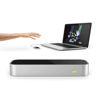 Wholesale New Cool Gesture Motion Control Mouse Leap Motion D Somatosensory Controller For Mac PC D interaction Somatosensory Game