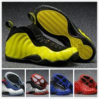 al por mayor hombres s zapatos del aire de baloncesto-Muchos colores Air Sport Zapatillas Hombre Penny Hardaway Zapatos de baloncesto 2 Pearl Penny Hardaway Zapatos Tamaño 8-13