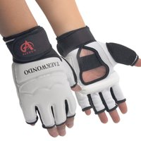 Wholesale Aishun Taekwondo Gloves Foot Set Children s Half Fingered Fist Adult Sanshou Professional Fighting Guards Foot Set