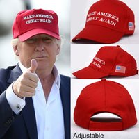 Wholesale Make America Great Again Hat Donald Trump Republican Adjustable Baseball Caps For Women Men