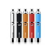 Wholesale Genuine Yocan Evolve Plus Kit E Cigarette Starter Kits QDC Dry Herb Wax Vaporizer Pen With Extra Quartz Dual Coil mAh Battery
