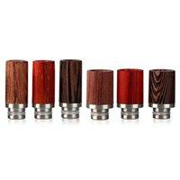 Belle Vape RDA Drip Tips Rose Bois 510 Drip Conseils pour E cigs Wide Bore Style de haute qualité DHL Free