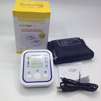 Wholesale ousehold Health Monitors Blood Pressure Arm Blood Pressure Pulse Monitor Health Monitors care Digital Upper Portable meter sphygmomanome