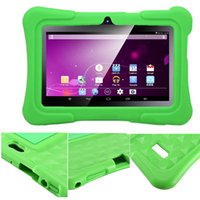 q88 Case 7'' Soft Silicone Cover Case for 7 inch Android Capacitive A33 Q88 mid Tablet PC 100PC DHL