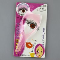 Wholesale Ship by dhl Makeup in Mascara Eyelash Curler Lash Comb Guide Cosmetic Make Up Eye Lash Tools Useful
