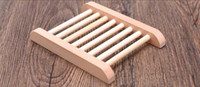 Wholesale 20pcs Creative Natural Wooden Soap Dish Plate Tray Holder Box Case Shower Hand washing