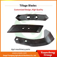 agriculture machinery - Boron Steel Pre harvest Agriculture Machinery Earth Tillage Blades Power Tiller Blade