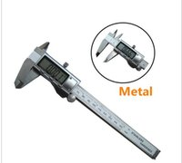 Wholesale Digital Caliper mm quot mm Stainless Steel Metal Casing Digital CALIPER VERNIER Caliper GAUGE MICROMETER Electronic Calipers