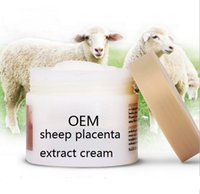 full size anti ageing cosmetics - DHL sheep placenta extract face cream OEM anti age anti wrinkle moisturizing tighten skin smooth skin cosmetics