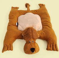 Wholesale Cartoon Animal Dog Beds Mats Teddy Pet Dog Sofa Pet Cat Bed House Big Blanket Cushion Basket