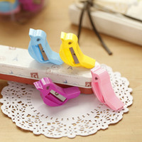 Wholesale Cute Small Bird Pigeon Pencil Sharpener Single Holes Cutter for Kid s Practical Stationery School Supplies