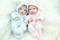 Wholesale 10 Inch Mini Reborn Babies Fashion Doll Handmade Newborn Baby Toys Realistic Finished Doll For Kids Birthday Xmas Gift free DHL