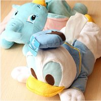 Wholesale Dumbo cartoon Donald s car with a tissue box of Kleenex cover paper towel tube birthday girl