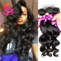 Wholesale 9A Grade Unprocessed Virgin Indian Hair Human Hari Weave Inch Indian Loose Wave Bundles Cheap Bundles Loose Wave Virgin Hair