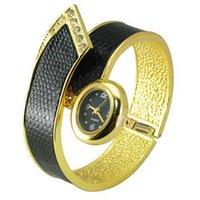 Wholesale Ladies Bracelet Watch Fashionable - Wholesale-2016 rhinestone bracelet watches Fashionable Xinhua Black Dial Bracelet Wrist Watch feminino ladies women dress hour relogio