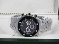 accurate stainless steel - Complete function needle top brand sports men solid solid function AAA quality quartz watch accurate positioning calendar quartz movement