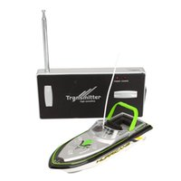 Wholesale Radio Remote Control Super Mini Speed Boat Dual Motor Toy Green Radio RC Super Mini Speed Boat RC toy